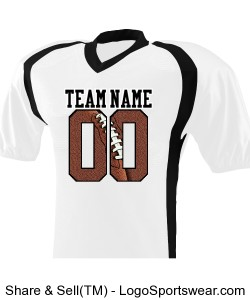 Youth Blitz Football Jersey Design Zoom