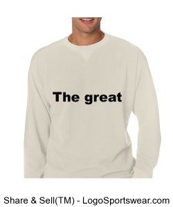 Adult Mini Thermal Crewneck  Design Zoom