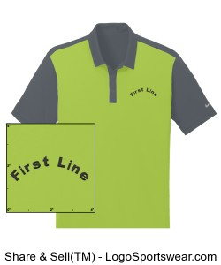 Nike Golf Dri-FIT Colorblock icon Polo Design Zoom