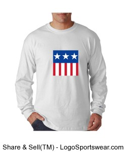 Champion 100% Jersey Long Sleeve Tagless Tee Design Zoom